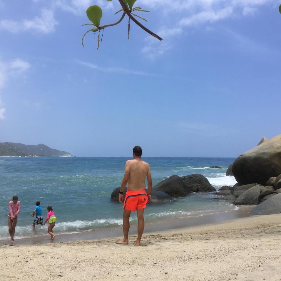 Plage de Cabo San Juan dans le parc Tayrona