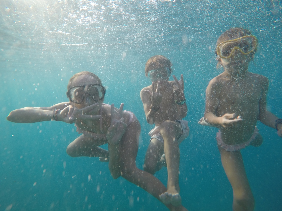 Snorkling à Moorea